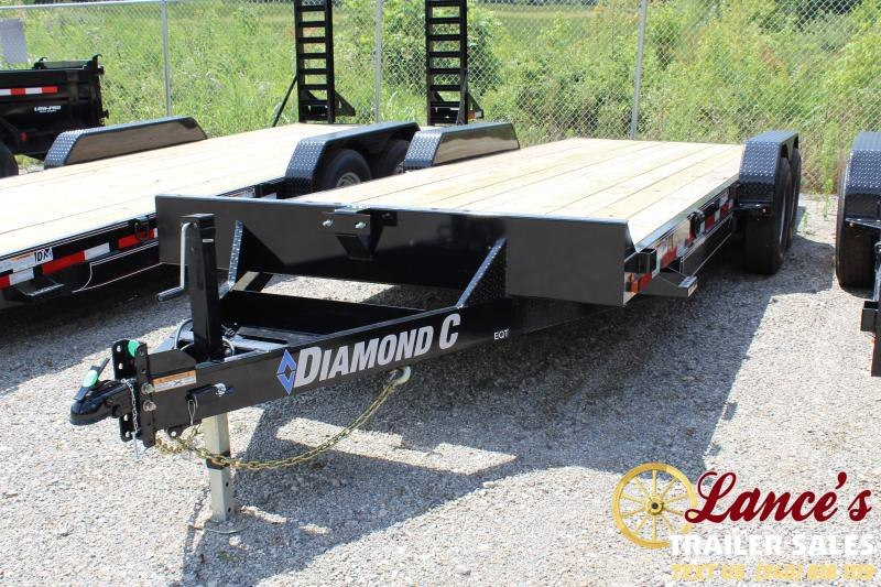 "2019 Diamond C 82"" x 20Ft. Equipment Trailer"