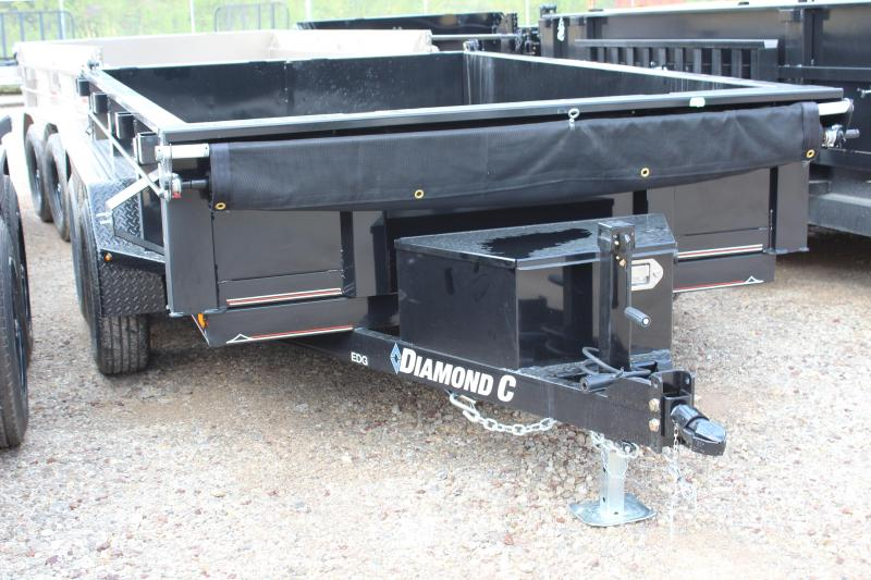 "2019 Diamond C 77"" x 10Ft. Dump Trailer"