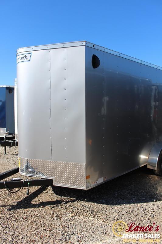 2020 Haulmark 7Ft. x 16Ft. Enclosed Cargo Trailer