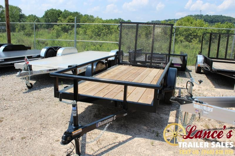 "2019 Diamond C 60""x10' Utility Trailer"