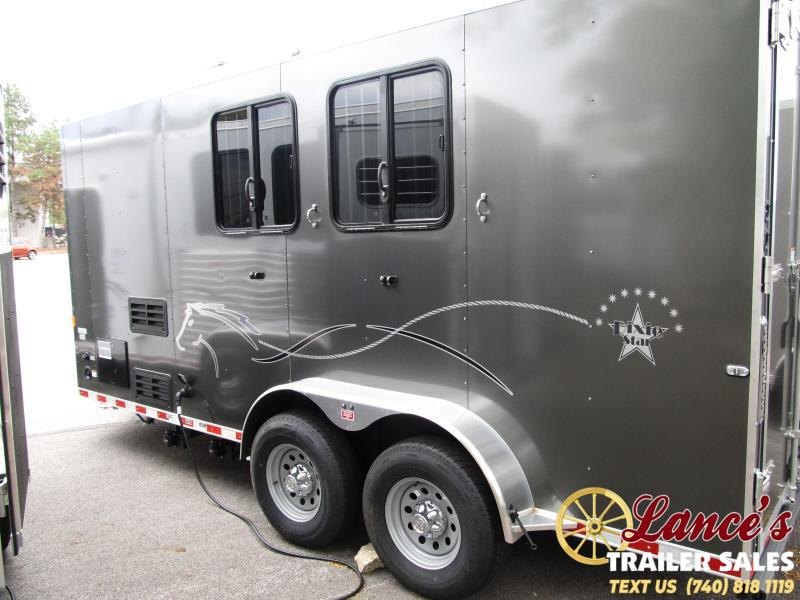 2020 Harmar 2 Horse Slant Load Living Quarters Trailer