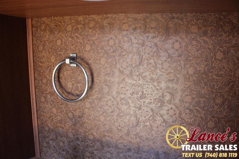 2020 Harmar 2 Horse Slant Load Trailer with Living Quarters