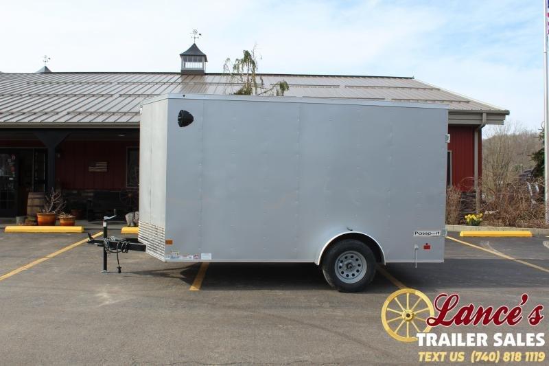 2020 Haulmark 7'x12' Enclosed Cargo Trailer