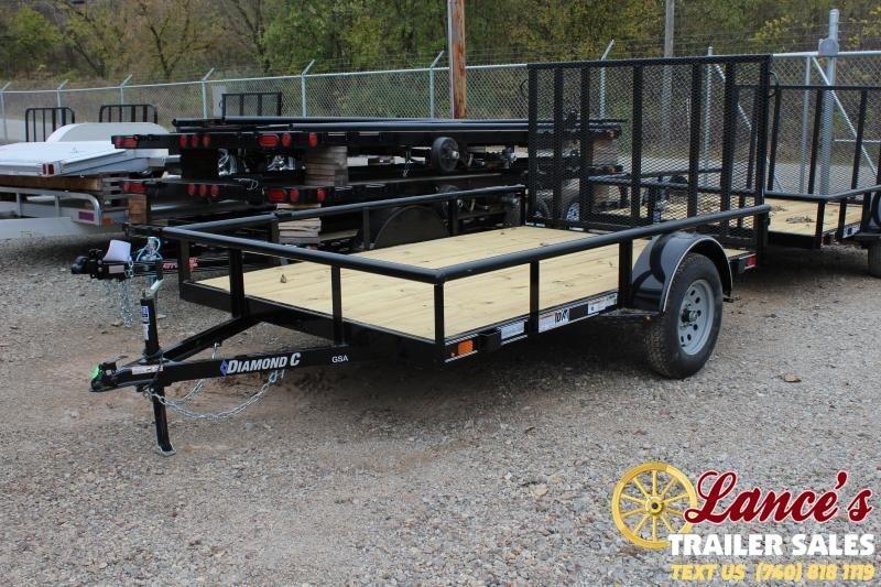 2020 Diamond C Trailers GSA135L10X77 Utility Trailer