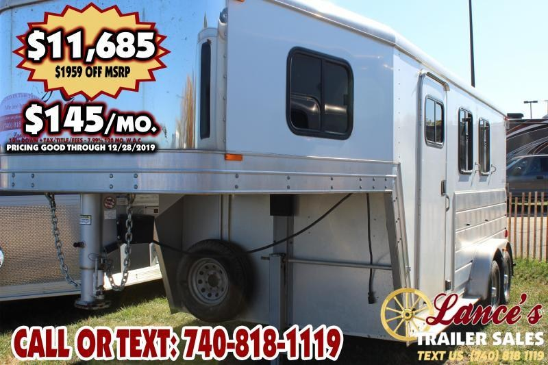 2007 Kiefer Built 2HSLGN Horse Trailer