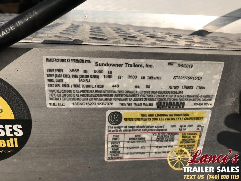 2020 *DEMO* Sundowner Stockman Special 3 Horse Trailer