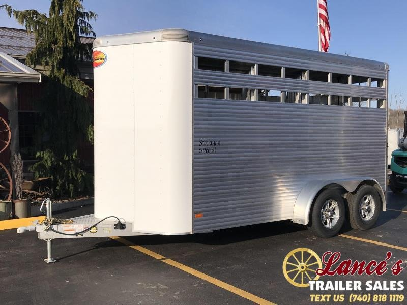 2020 *DEMO* Sundowner Stockman Special 3 Horse Trailer