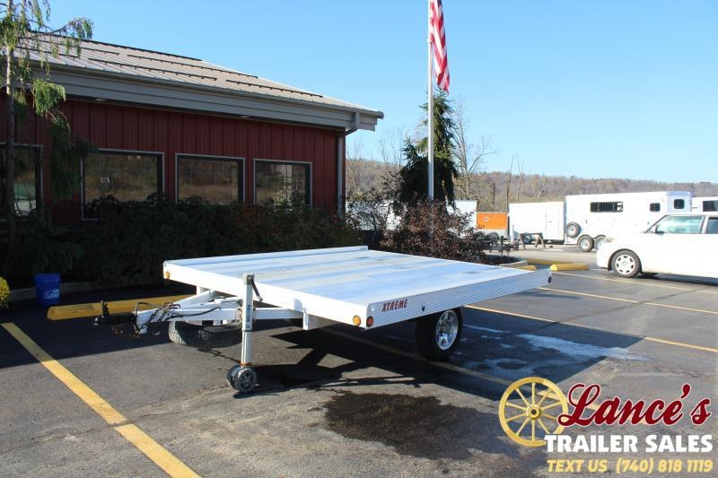 2012 Alcom-Stealth XTREME Snowmobile Trailer