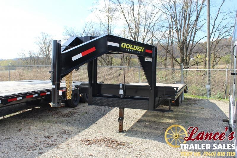2019 Golden 20+5 7K Equipment Trailer