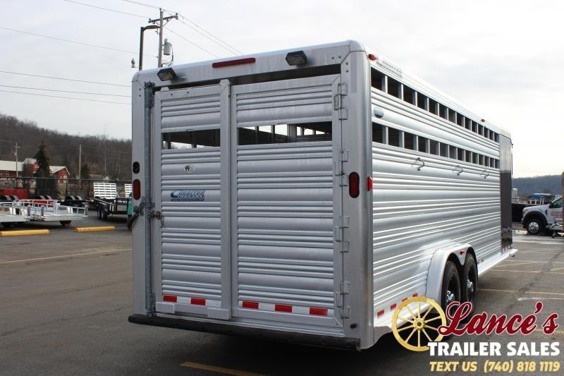 2010 Cimarron 24Ft. Livestock Trailer