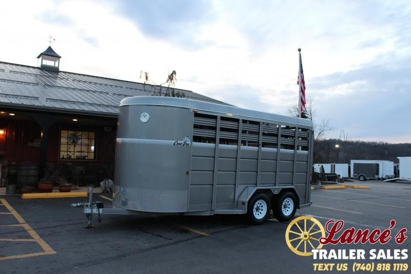2017 CornPro 16Ft. Livestock Trailer