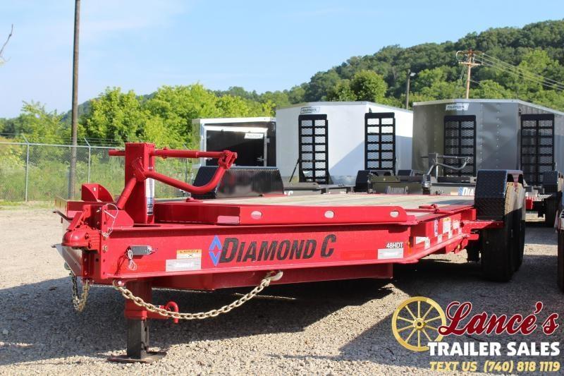 """2019 Diamond C HDT 82""""x20' Tilt Equipment Trailer"""