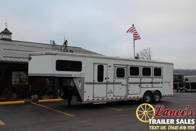 2007 Sundowner 4 Horse Slant Load Trailer