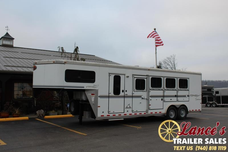 2007 Sundowner 4 Horse Slant Load Trailer