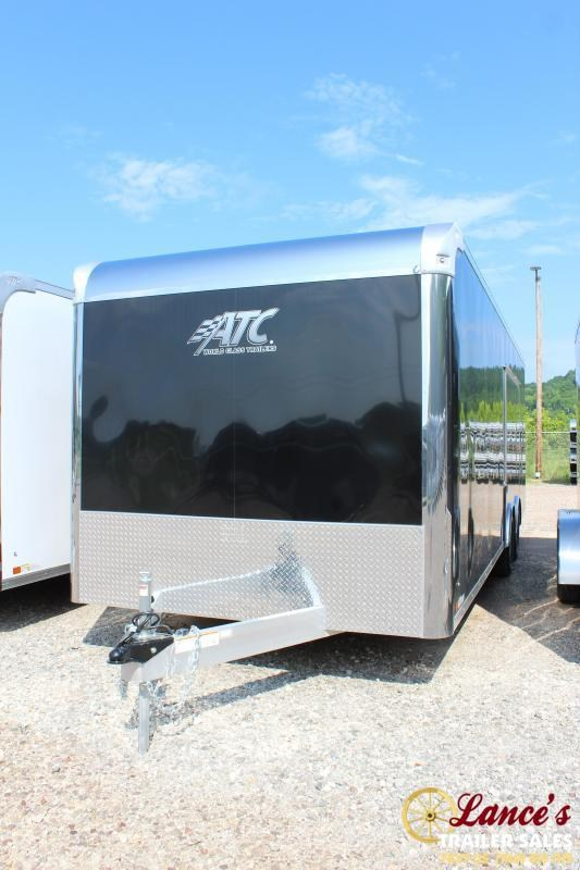 2019 ATC Raven Plus 8.5'x24' Enclosed Car Hauler
