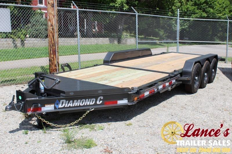 "2020 Diamond C 82""x22' HDT Tri-Axle Equipment Trailer"