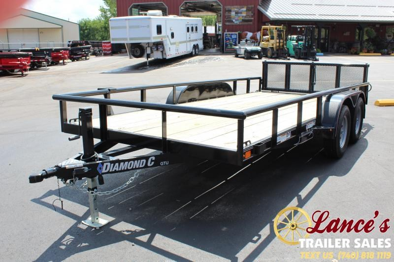 "2019 Diamond C 83"" x 16Ft. Utility Trailer"