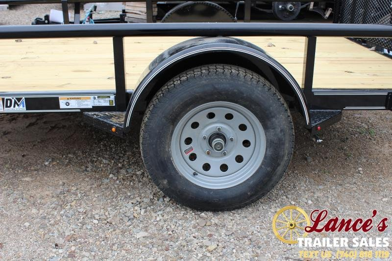 "2020 Diamond C 77"" X 10 Ft. Utility Trailer"