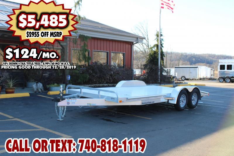 "2019 ATC Arrow 82"" x 18Ft. Aluminum Open Car Hauler"