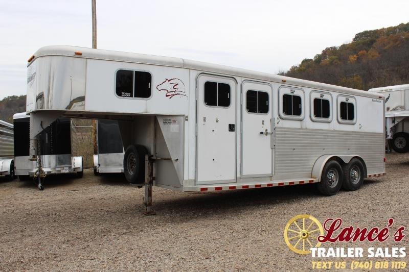 2000 Sooner 4 HORSE SLANT LOAD Horse Trailer