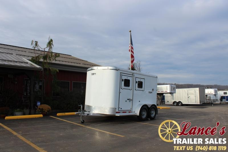 2007 Shadow Trailers 71358-2SL-BP Horse Trailer