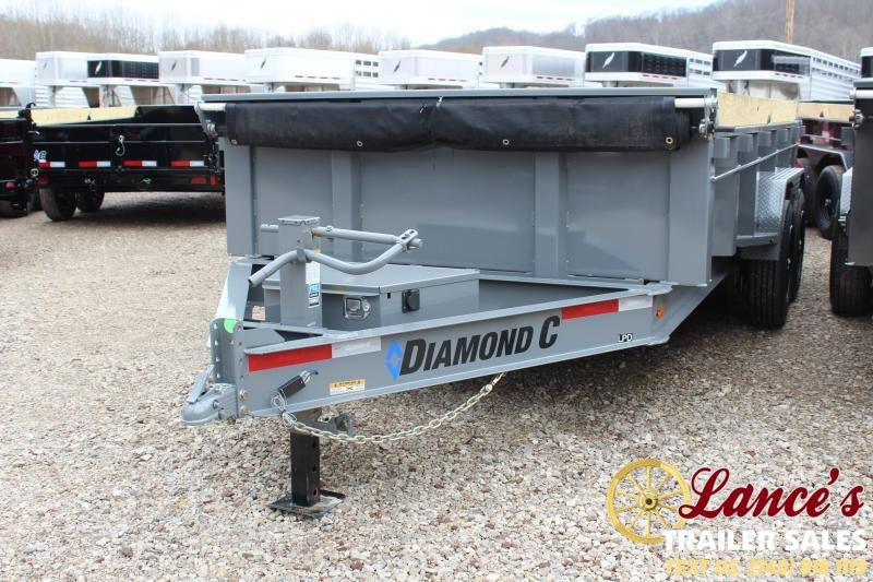 "2020 Diamond C 82""x14' HD Dump Trailer"