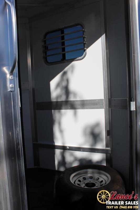 2012 Eclipse Aluminum Trailers 2HSTDRSR Horse Trailer