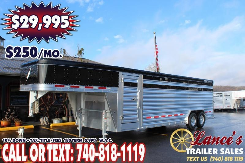2020 Featherlite 24ft. Presidential Show Cattle Livestock Trailer