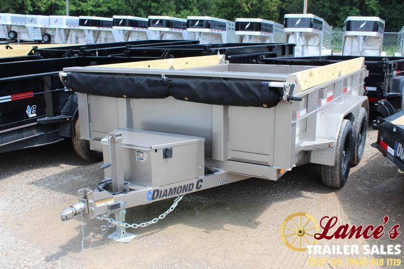 2019 Diamond C 10 Ft. Dump Trailer
