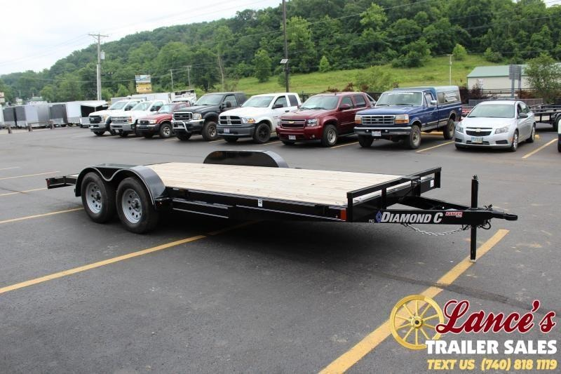 "2020 Diamond  C  83"" X 18' Open Car Hauler"