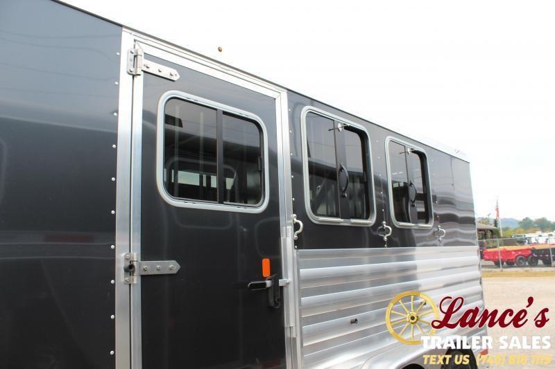 2020 Exiss Express CXF 3 Horse Living Quarters Trailer