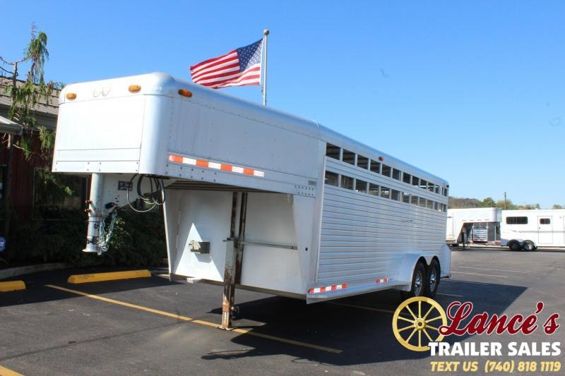 1999 C and C Trailers Used C and C Livestock Trailer Livestock Trailer