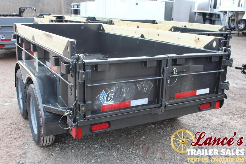 "2020 Diamond C Trailers 60""x10' Dump Trailer"