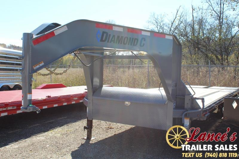 "2020 Diamond C 102"" x 25Ft. Equipment Trailer"