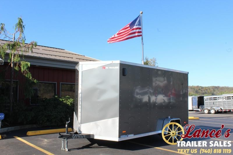2020 RC Trailer Deluxe Enclosed Cargo Trailer