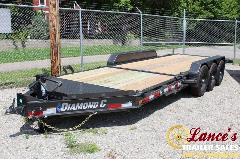 "2020 Diamond C 82""x22' HDT Tri-Axle TILT- Trailer"