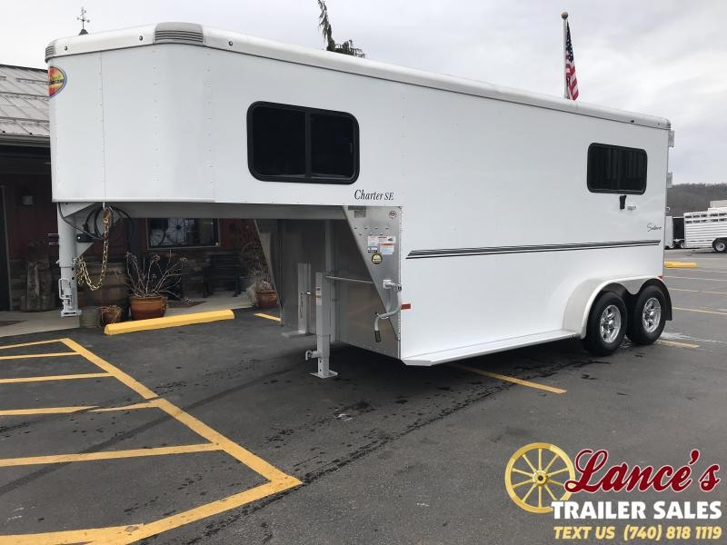 2020 *DEMO* Sundowner Charter 2 Horse Trailer L1KB7980