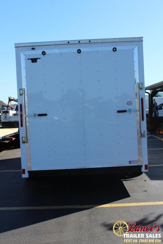 2020 Haulmark 7Ft. x 16Ft. TANDEM AXLE Enclosed Cargo Trailer