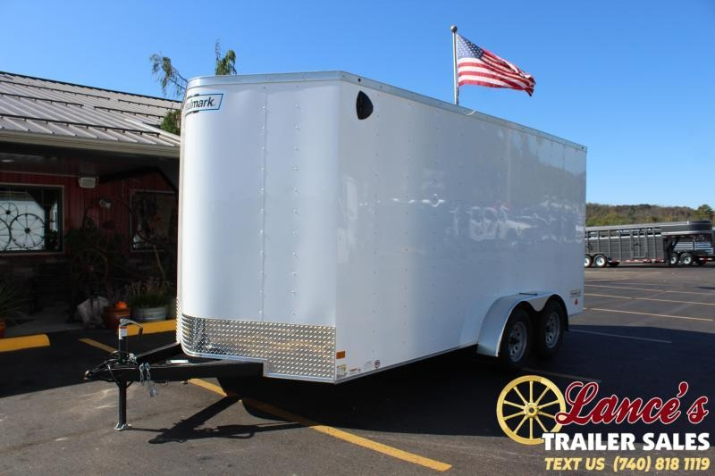 2020 Haulmark 7 X 16  - TANDEM AXLE Enclosed Cargo Trailer