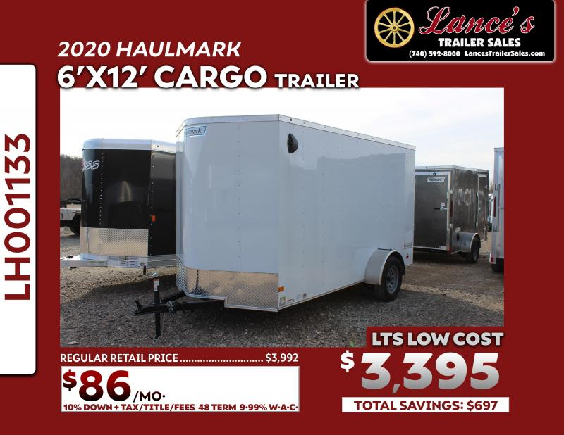 2020 Haulmark 6'x12' Enclosed Cargo Trailer