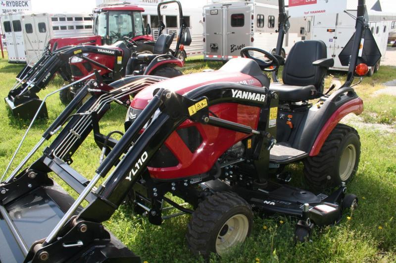 2019 Yanmar SA221 Tractor