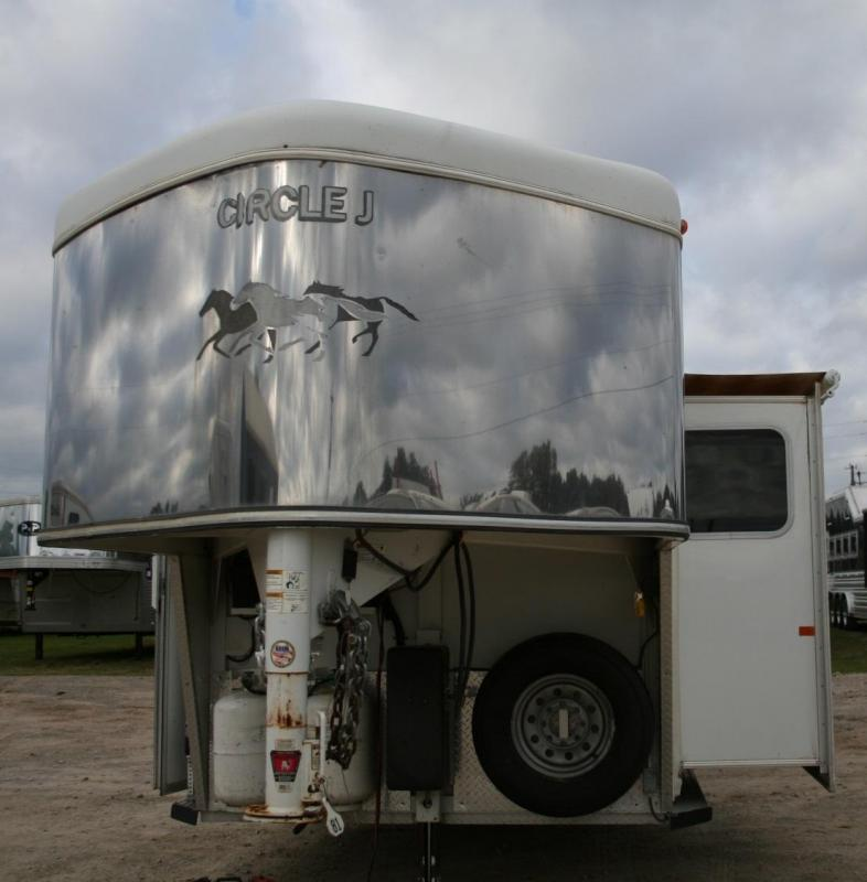 2008 Circle J Trailers Mirage CJ12 SO Edition Horse Trailer