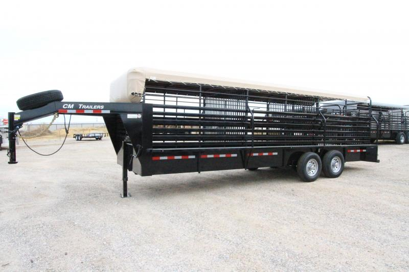 2020 CM Brush Buster Horse Trailer
