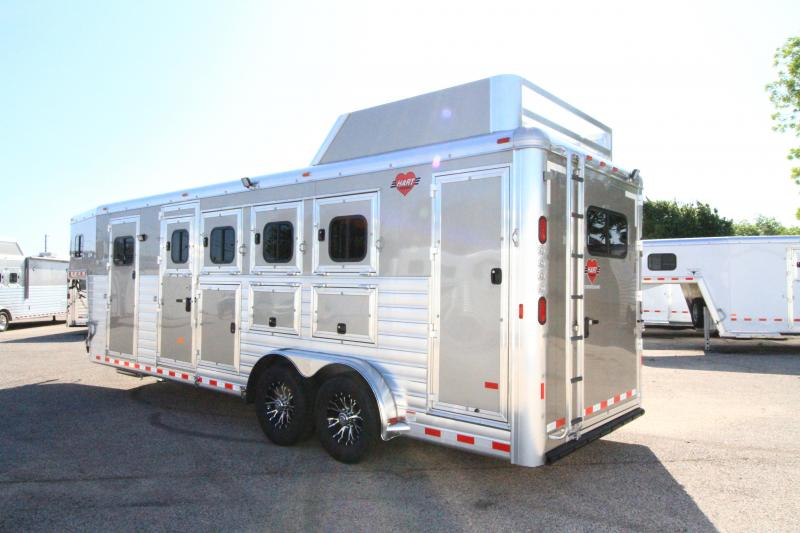 2020 Hart Tradition 4 Horse Smart Tack Trailer