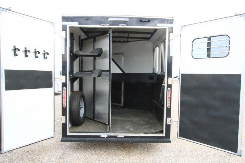 2017 Dixie Tuff 2H BP - Weekend Pkg Horse Trailer