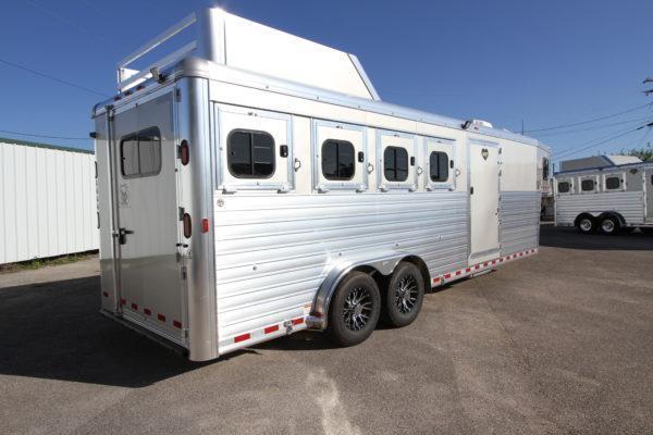 "2018 Hart Tradition 4H 6'6"" SW Jackpot LQ Horse Trailer"