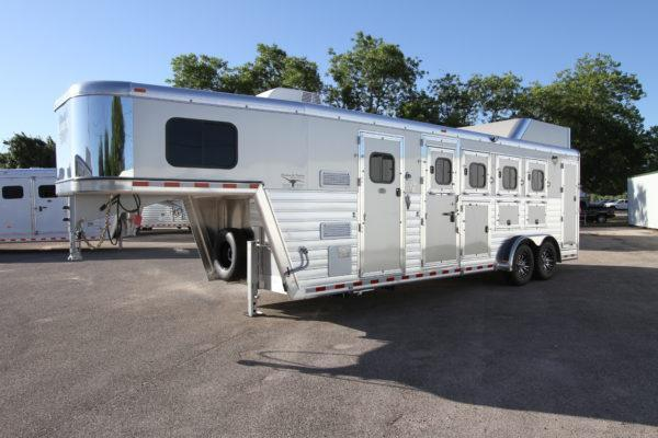 "2018 Hart Tradition 4H 6'6"" SW Jackpot LQ Horse Trailer"