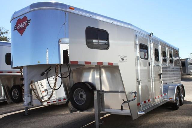 2017 Hart MVP 3 Horse Trailer