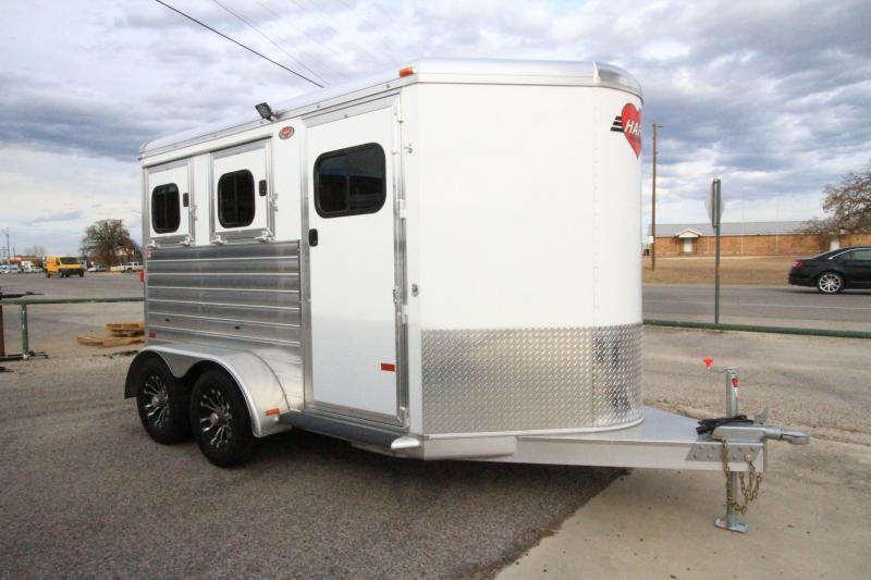 2020 Hart Solution 2H BP Horse Trailer