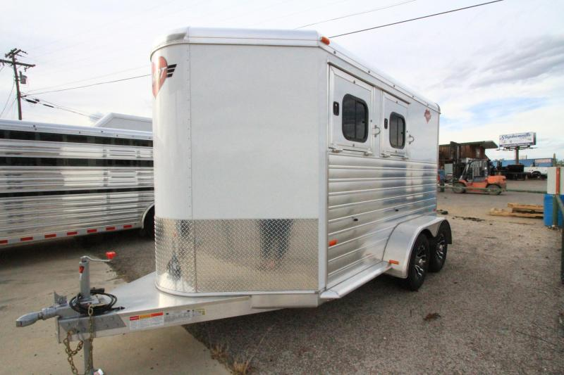 2020 Hart Solution 2H BP Horse Trailer